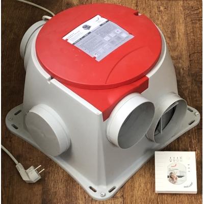 Zehnder Comfofan SR + CO2 (370m3)