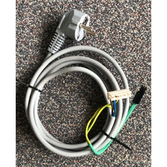 Goede gebruikte randaarde netsnoer voor Itho HRU 300 WTW unit. 05-00281