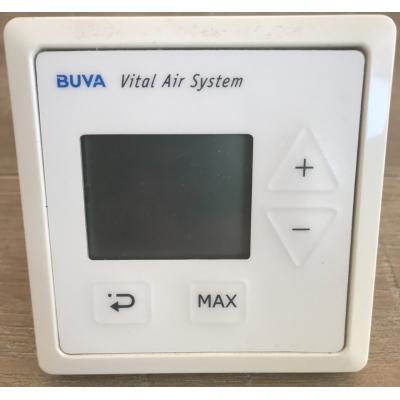 Buva inbouw bediening LCD RF batt.