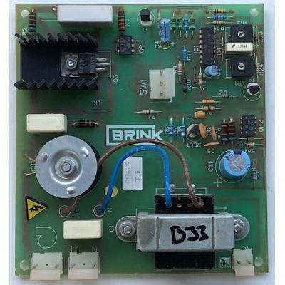 Goede gebruikte Brink voedingprint B33.