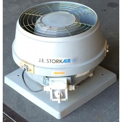 ZGAN Stork VDA200/4D dakventilator. (1250m3)