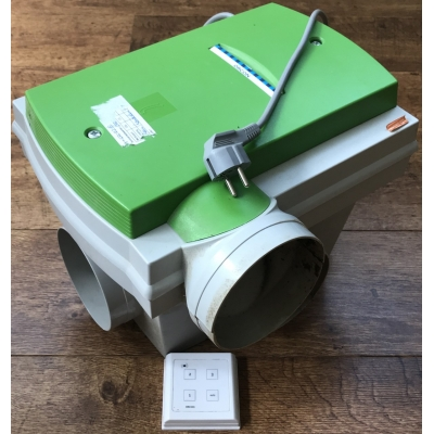 Orcon ventilatiebox met vochtsensor incl.bediening
