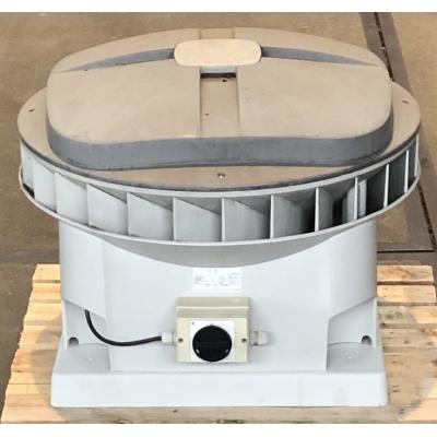 Goede gebruikte Stork MX210 dakventilator met werkschakelaar. (3701m3)