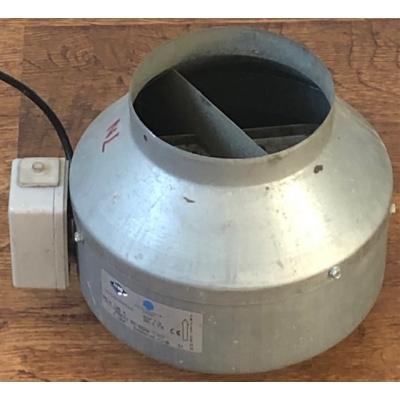 Gereviseerde Itho K-125-M kanaalventilator. (325m3)