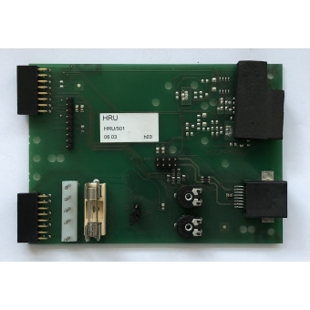 Goede gebruikte communicatie print Itho HRU WTW unit. HRU/501