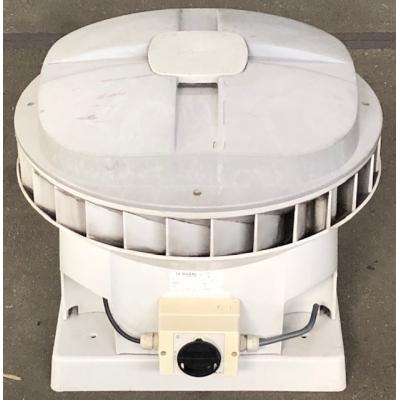 Goede gebruikte Stork MX110 dakventilator met werkschakelaar. (2005m3)