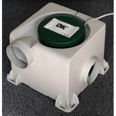 Gereviseerde Stork CMLe ventilatiebox. (300m3)