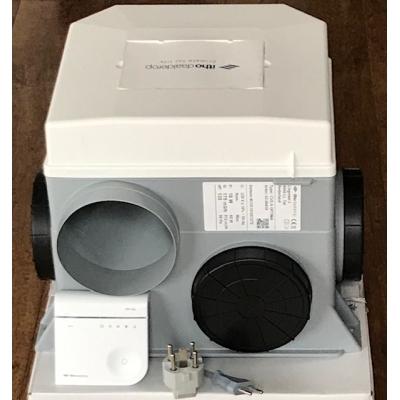 Nieuwe Itho CVE-S Optima ventilatiebox met afstandbediening. (468m3)