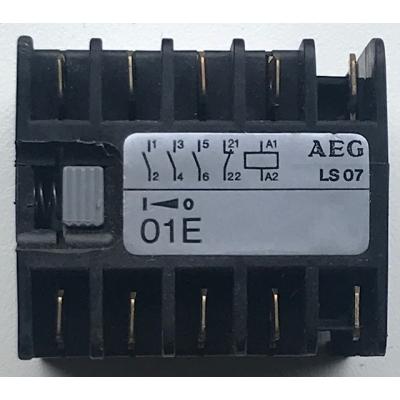 Goede gebruikte relais voor Brink B8 luchtverwarming. AEG LS07 01E